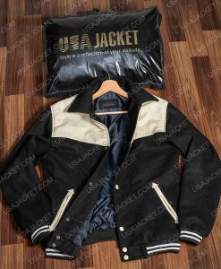 Power Book II Ghost Michael Rainey Jr. Black and White Jacke