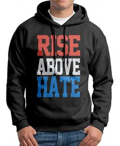 Rise Above Hate Black Hoodie