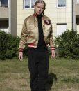 Roman Geike San Francisco 49ers Gold Bomber Jacket