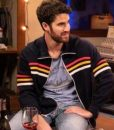 Royalties Darren Criss Striped Jacket