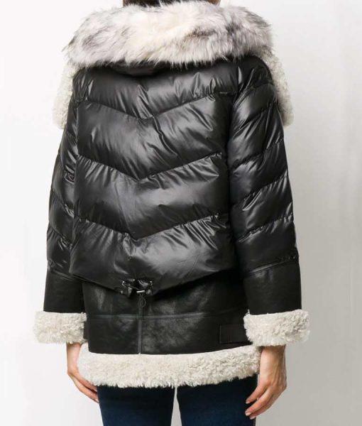 Samantha Shearling Samantha Shearling Black Padded JacketBlack Padded Jacket