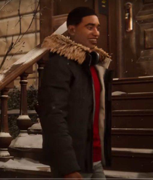 Spider-Man Miles Morales Hooded Jacket