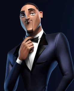 Lance Sterling Spies In Disguise Will Smith Blue Tuxedo Suit