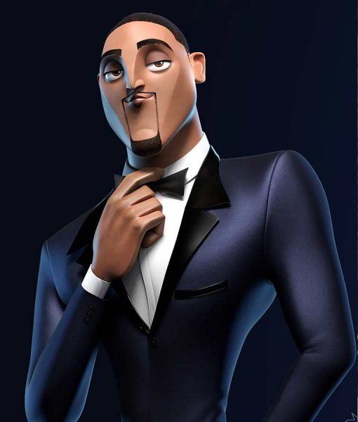 Spies In Disguise Will Smith Blue Tuxedo Lance Sterling Suit