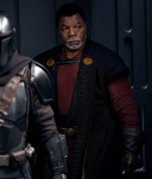 Star Wars The Mandalorian S02 Greef Karga Coat