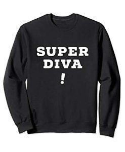Ruth Bader Ginsburg Super Diva RBG Sweatshirt