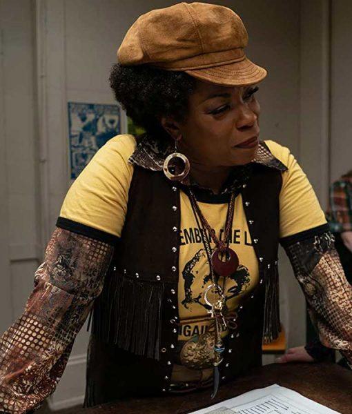 The Glorias Lorraine Toussaint Fringe Vest