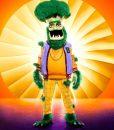 The Masked Singer S04 Broccoli letterman Jacket