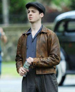Anthony Boyle The Plot Against America Leather Jacket