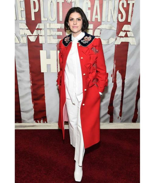 The Plot Against America Jeriana San Juan Red Coat