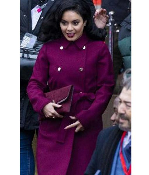 Lady Margaret The Princess Switch Switched Again Purple Coat