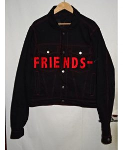 VLONE Friends Denim Black Jacket