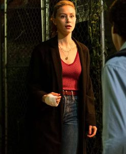 Vampires vs. the Bronx Sarah Gadon Trench Coat