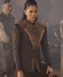 Warrior S02 Mai Ling Leather Jacket