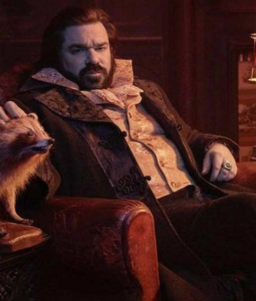 What We Do In The Shadows Matt Berry Trench Coat