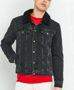 Woke Lamorne Morris Black Trucker Jacket
