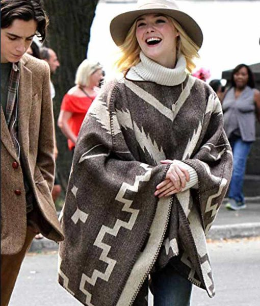 A Rainy Day In New Year Ashleigh Poncho