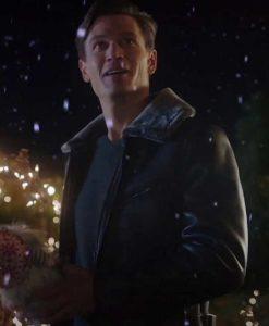 Jon Prescott A very Charming christmas town Leather Jacket