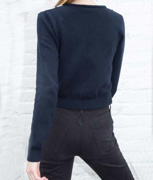Amalia Yoo Grand Army LeilaKwan Zimmer Argyle Print Sweater