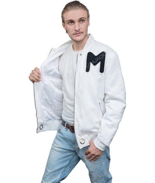 Marshmello White Cotton Jacket