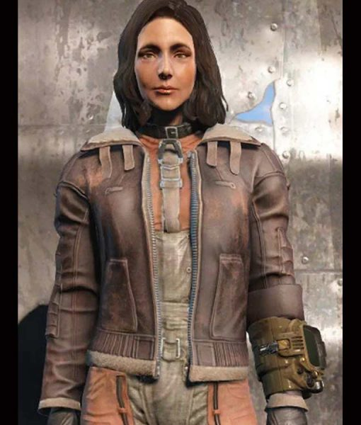 Fallout 4 Armor Bomber Leather Jacket