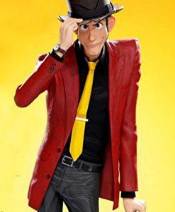 Arsene Lupin III Lupin III The First Red Leather Blazer