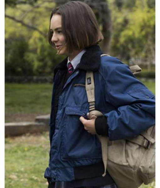 Casey Gardner Atypical Season 04 Brigette Lundy-Paine Bomber Jacket