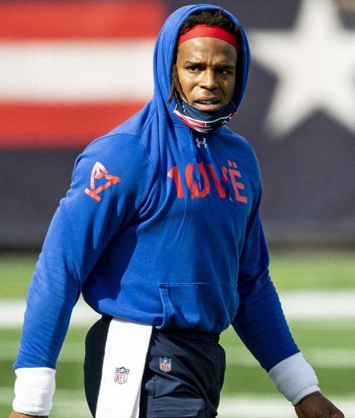 Cam Newton Love Hoodie