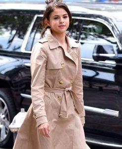 Chan A Rainy Day In New York Selena Gomez Coat