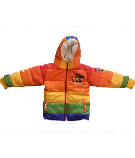 Cocomelon-Puffer-Jacket