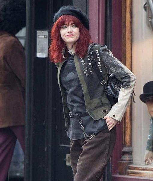 Cruella 2021 Emma Stone Cotton Jacket