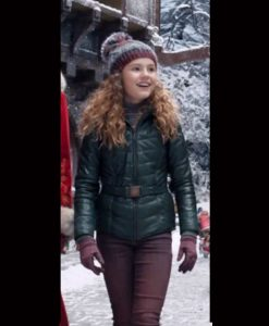 Darby Camp The Christmas Chronicles 2 Kate Green Jacket