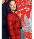 Dash & Lily Book Of Dares Lily Red Puffer Jacket