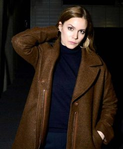Deadwind Pihla Viitala Brown Trench Coat