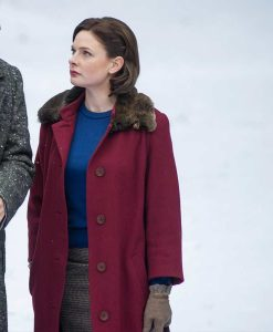 Despite The Falling Snow Rebecca Ferguson Trench Coat