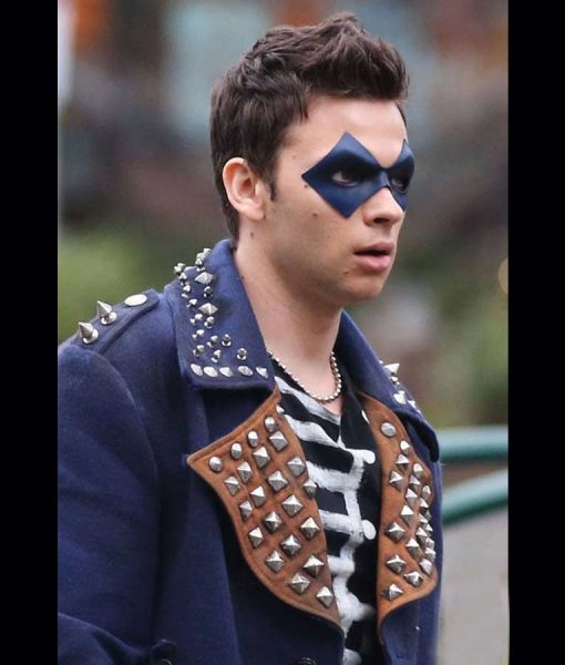 The Flash Devon Graye The Trickster Coat With Studs