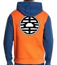 Dragon Ball Z Goku Orange Hoodie