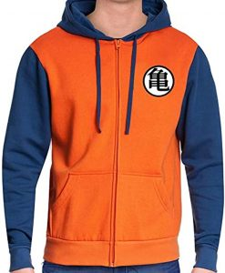 Dragon Ball Z Goku Orange Hoodie
