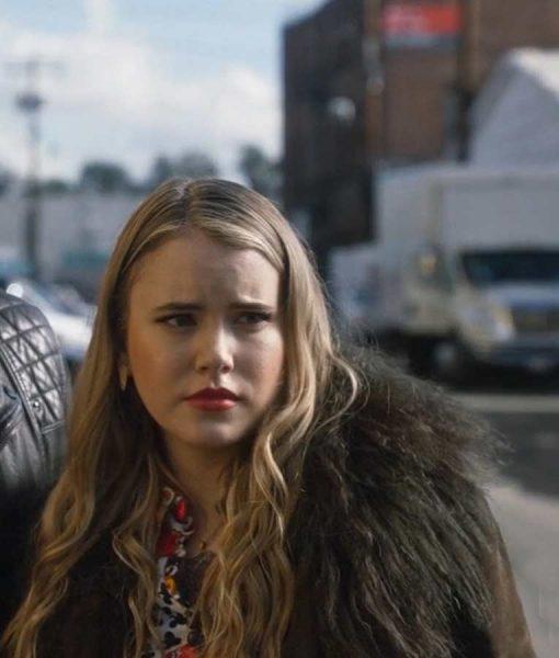 Tess Driven to the Edge Taylor Spreitler Fur Coat