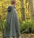 Elle Fanning The Great Catherine Fur-Trimmed Cloak