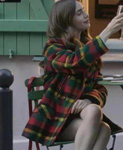 Emily Cooper Multi-color Checked coat