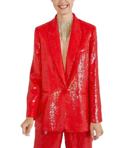 Emily-In-Paris-Red-Sequin-Blazer