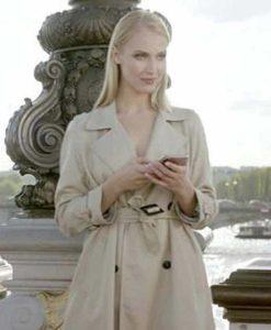 Emily in Paris Camille Razat Trench Coat