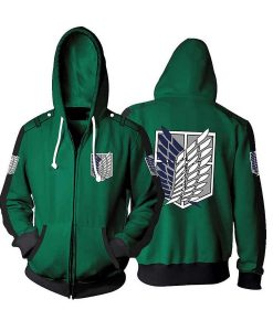 Attack On Titan Black Hoodie