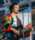 Harry Style Patchwork Cardigan