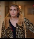 Holidate 2020 Sloane Leopard Print Coat With Fur Collar