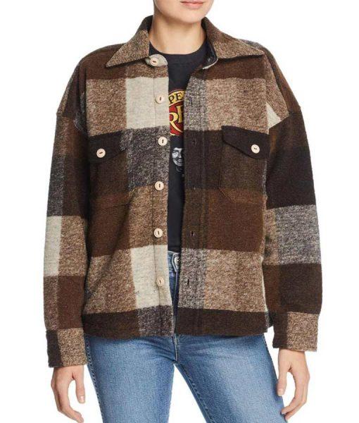 Holidate 2020 Sloane Plaid Jacket