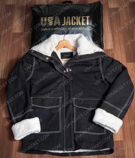 Holidate 2020 Sloane Jacket With Shearling Trim