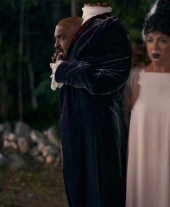 Hubie Halloween Mr. Lester Hennessey Velvet Coat