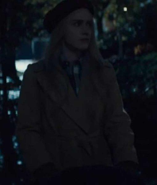 Jean I'm Your Woman Rachel Brosnahan Coat